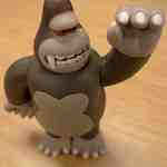 photo of chimp toy