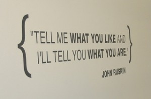 Quote from Ruskin