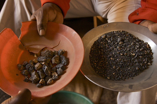 photo of conflict and non-conflict minerals