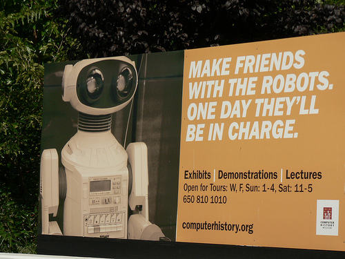 photo of robot poster