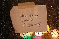 self belief note