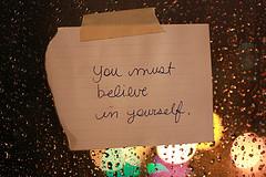 self belief note