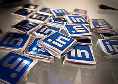 image of linkedin chocolates