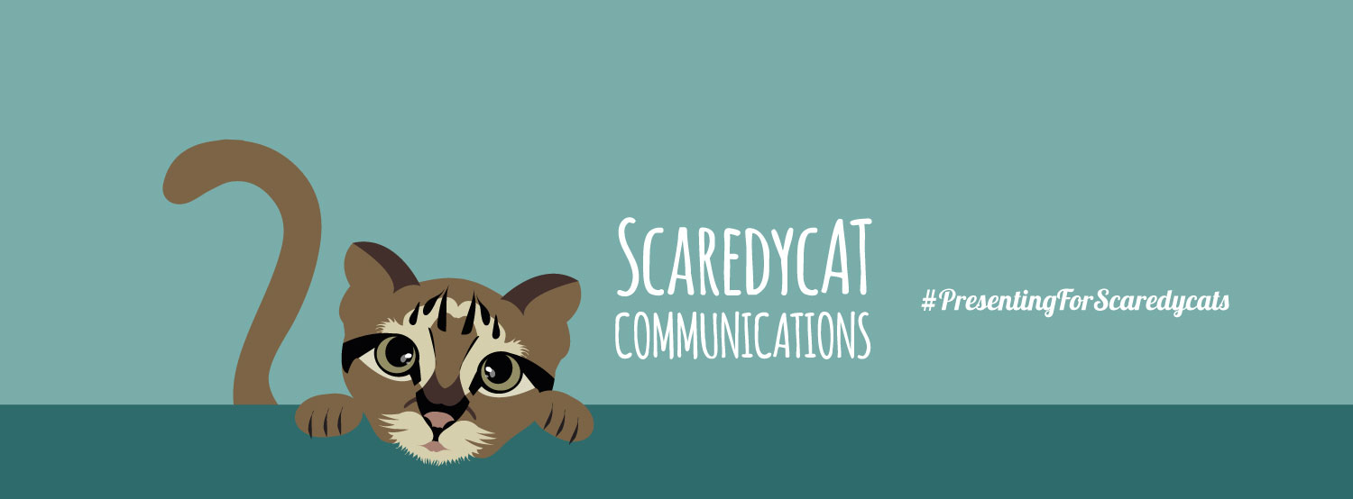 How to present when you're a scaredycat