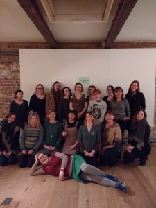 photo of scaredycat workshop attendees
